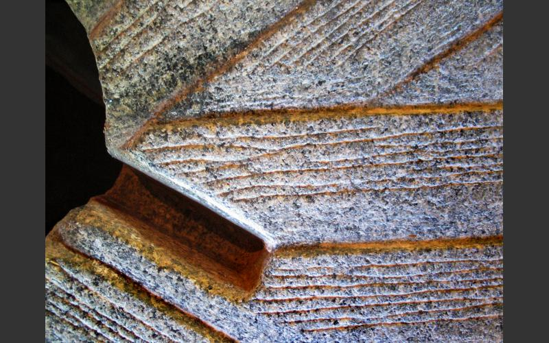 Close view of the runner including a groove where an arm of the rynd sits.